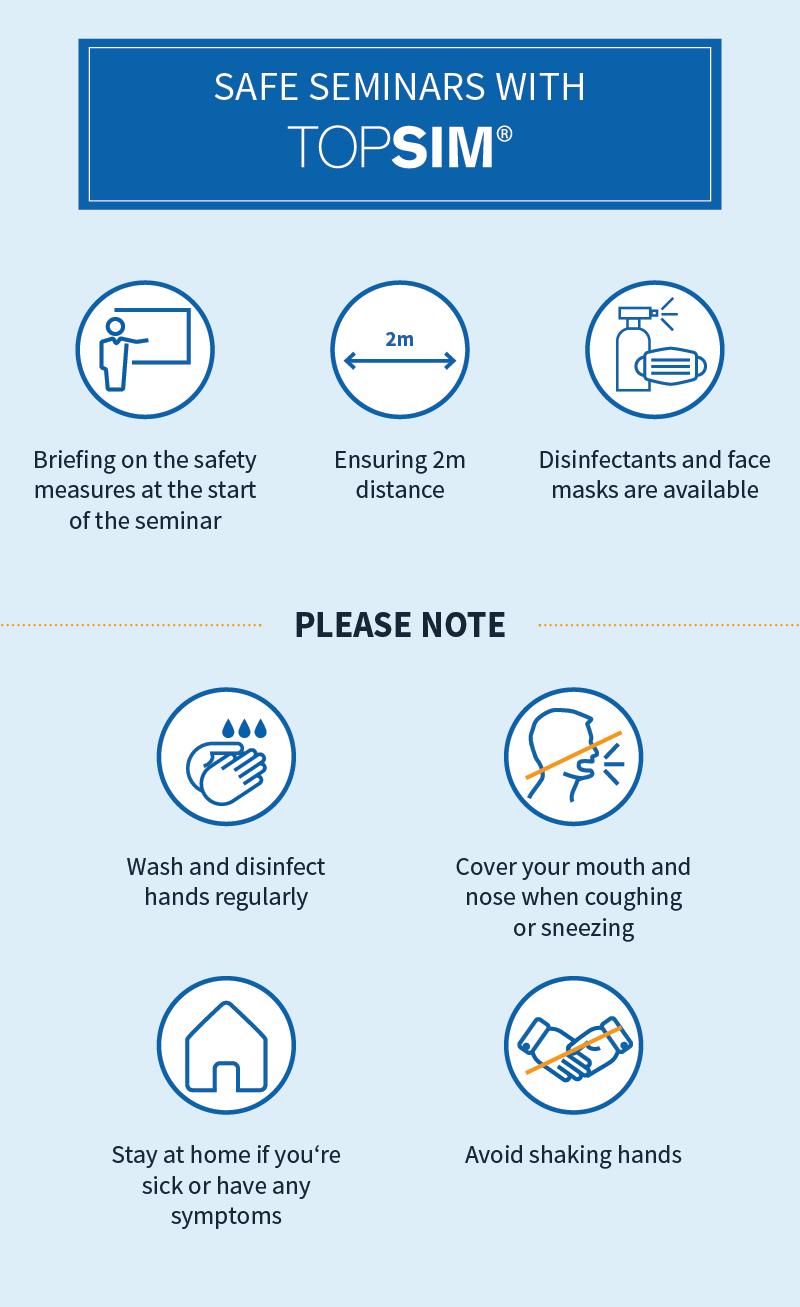 Stay Safe with TOPSIM Seminars