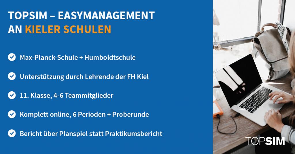 Infografik: easyManagement an Kieler Schulen