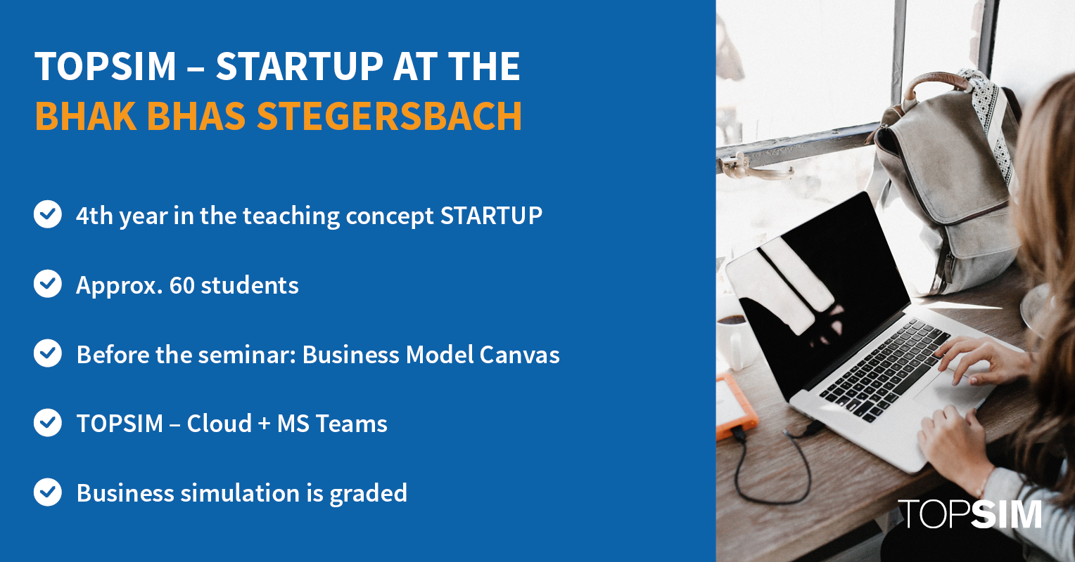 Info graphic Startup BHAK BHAS Stegersbach