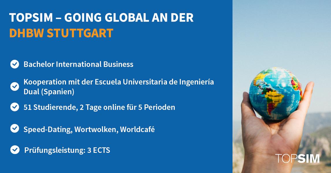 International Business DHBW Stuttgart TOPSIM Going Global